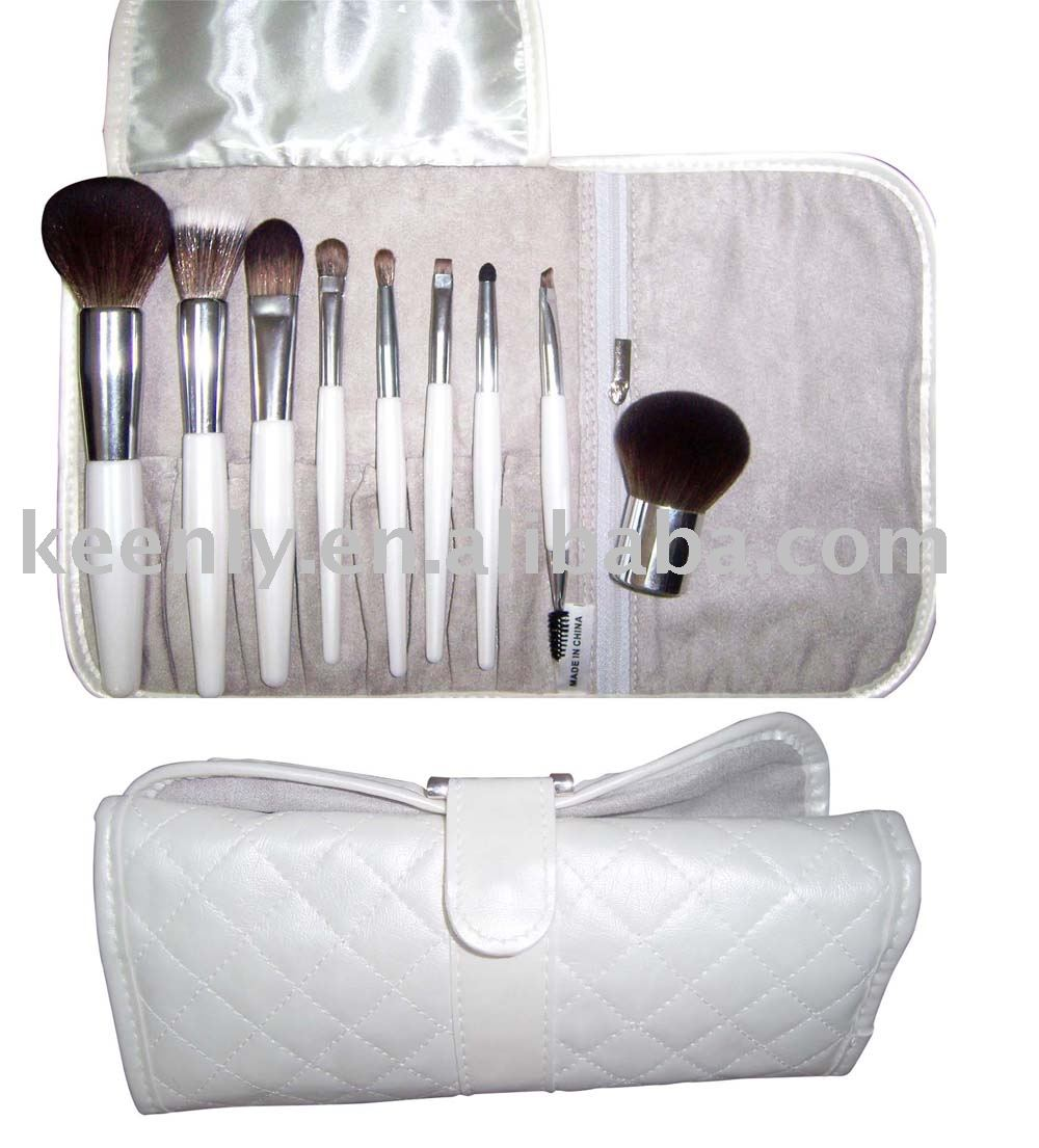 Professional Make up brush set with KABUKI(China (Mainland))