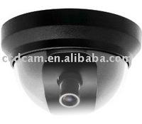 Color Plastic Dome CCD security camera