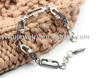 Stainless Steel Jewelry Stainless Steel Bracelet Zirconium Braceket Ladies' Bracelet Ladies' Jewelry Free Shipping,BH1313E5