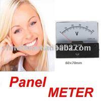 Analog Voltage Panel Meter DC 50V 60*70mm