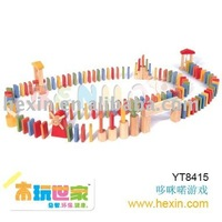 Wooden Games - 116pcs Domino Rally