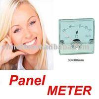 10 Pieces Analog Volt Panel Meter  250V 80*80mm
