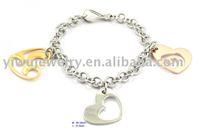 BC415G Free Shipping women stainless steel bracelet