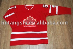#87 Canada Olympic Team ice hockey jersey,Accept paypal(China (Mainland))