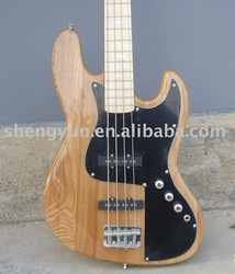 4 string electric bass in natural color wholesale and retail(China (Mainland))