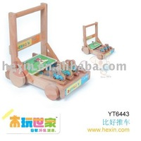"Wooden toy <BENHO/HIGH QUALITY WOODEN TOY>""Benho"" KATA Trolley(wooden toys,educational toys,wooden gifts) Educational toy"