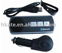 10pcs/lot Car MP3+bluetooth hands free car kit+car audio at-b011
