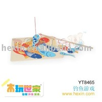 <BENHO/HIGH QUALITY WOODEN TOY>Magnetic fish puzzle (Magnetic puzzle,wooden magnetic puzzle,wooden gift )