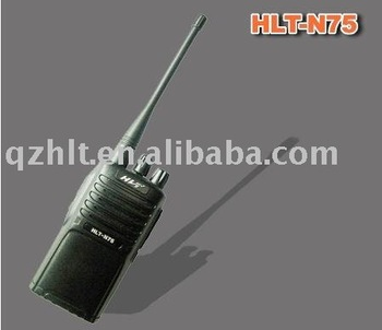 radio walkie talkie  HLT-N75 <Li-ion/NI-MH battery,voice prompt>