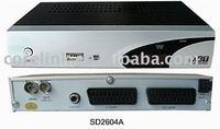 FTA DVB-T SD/MPEG4 H.264 STB ISDB-T Receiver