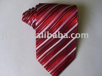 silk woven jacquard neck tie