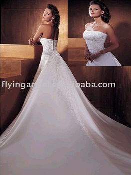 Free Shipping - Wedding Dress Wedding Gown Bridal Gown OL-0128