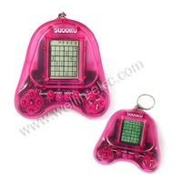 electronic game player,key chain 6 in 1 game player,game