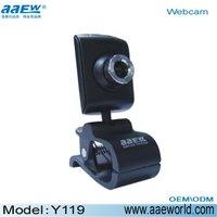 webcam,pc camera,Y119USB2.0, ,pc webcam factory price!