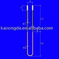 U type MoSi2 Heating Elements