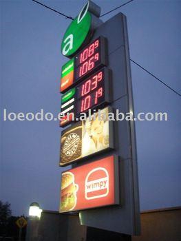 Gas Price led display