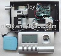 safe lock,digital lock,fingerprint lock with LCD display fingerprint ID