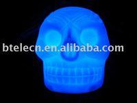Halloween candle led ball colorful led light mood light Novelty Decoration with LED Mood Light