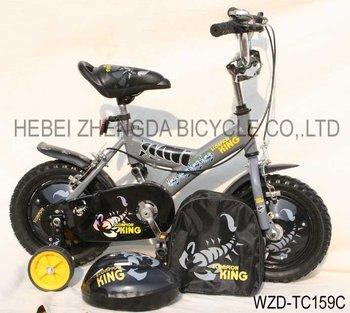 kids bike with cartoon xticker