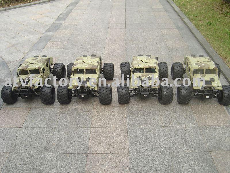 1:5 Gas rc truck/hummer(China (Mainland))