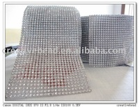 24 rows silver plastic trimming+2011 fashion trimming+fast delivery time+Best price trimming
