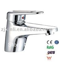 Retail - Luxury Brass Wash Basin Faucet, Chrome Basin Tap, Deck Mounted Basin Mixer, Free Shipping X8505B