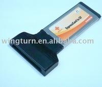 Compact Flash CF to Express Card 34 Card Adapter reader