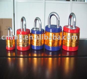 Cylinder  Padlock luggage lock combination padlock