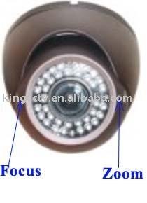 Adjustable Weatherproof Day Night IR Dome Cameras SA Series(China (Mainland))
