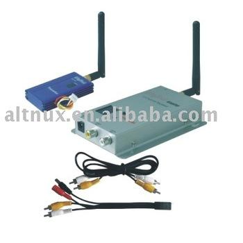 2.4G 1000mW Wireless AV transmitter Receiver 12 Channels