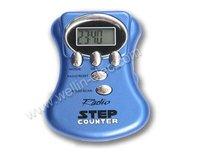 Radio Pedometer ,Auto scan FM radio w/ multi-function pedometer & belt clip,gift