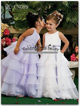 lovely little girl dress HL-CN089