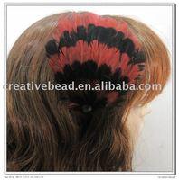 free shipping , 2010 new fashion feather headband, hairband, Christmas gift, Christmas party headband
