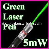 5mW 532nm Green Beam Laser Light Pointer Pen
