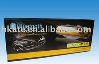 car rearview mirror bluetooth car kit with call id and name display with SD mp3 player atb-09
