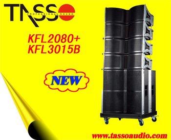 subwoofer(CE,RoHS) KFL2080 line array loudspeaker