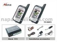 2 way auto alarm with remote start