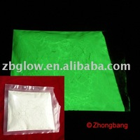 Night glow powder , 5~10um , yellow-green glowing ,  free sample applicable