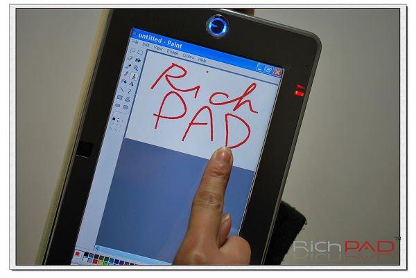 "RichPAD 7"" touch screen laptop(China (Mainland))"