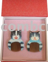 New!Chinese characteristic gift two lovely cats-nw1