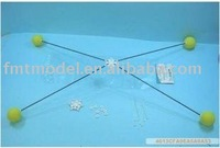 F00390 Landing Training crash kit With Blue Sponge Balls For Rc 450 3D Heli Helicopter Landing train + free shipping