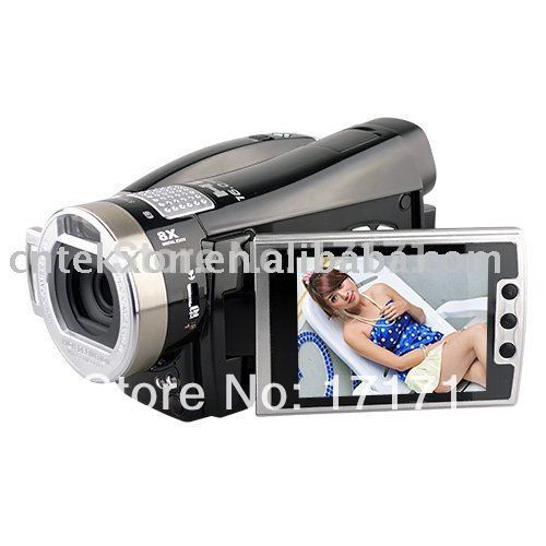 16.0 MP max,8xdigital zoom,HDMI TV Out,270 degree (HDV8000),Free shipping by Hongkong Post(Hong Kong)
