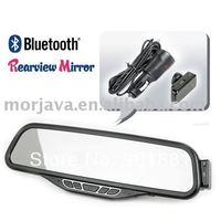Shenzhen Manufacturer bluetooth car rearview mirror phone book Free Shipping