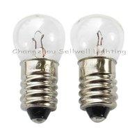 Perfect! 1000 picecs/lot e10 g14 6v 2.4w miniature lamp bulb a064