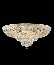 "36"" Crystal Flush mount ceiling basket in chrome finish +Free-shipping(China (Mainland))"