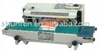 Small Continuous Plastic Bag Sealing Machine (Free Shipping)