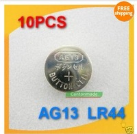 10pcs New AG13 LR 44 LR1154 A76 SR44Cell Button Battery