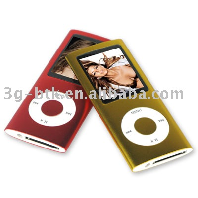 4th Generation MP4 player(Hong Kong)