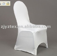 sales promotion free shipping white banquet spandex chair cover/lycra chair cover for weddings