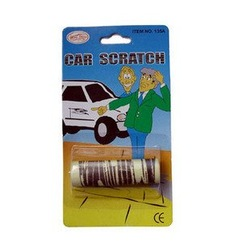 Wholesale 240pcs/lot Funny JOKE CAR SCRATCH magic toy[50off EMS](China (Mainland))